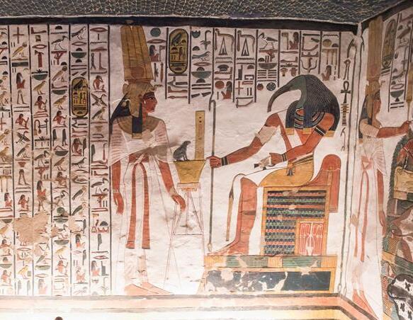 走进古埃及奈菲尔塔利地下陵墓