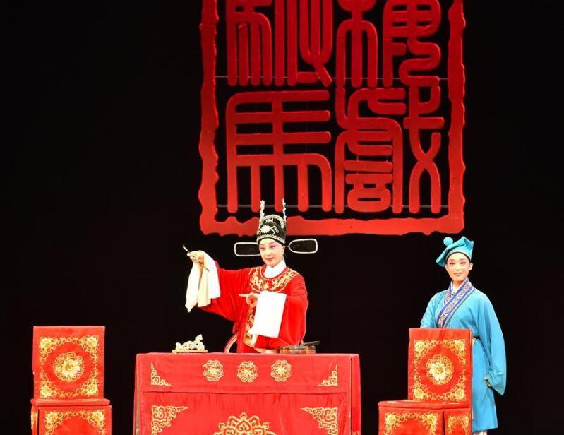 第29届中国戏剧梅花奖黄梅戏折子戏现场竞演在南宁举行
