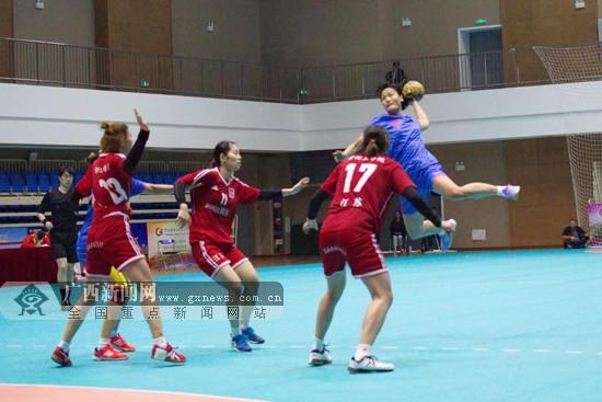广西女子手球小将黄海玉入选国家队备战亚青赛