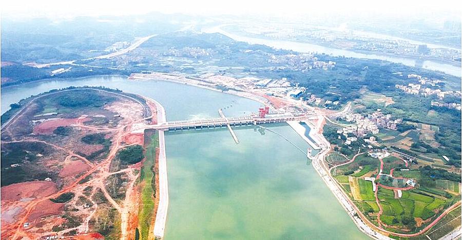 邕宁水利枢纽:千吨船舶江中过 发电环保两相宜