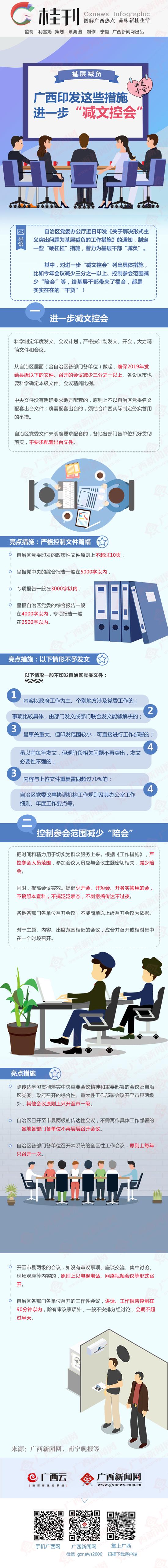 """【桂刊】基层减负!广西印发这些措施进一步""""减文控会"""""""