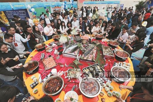 防城港赴四川、贵州开展项目推介活动侧记