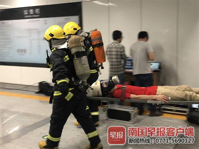 南宁地铁开展综合应急演练 3号线预计6月开通运营