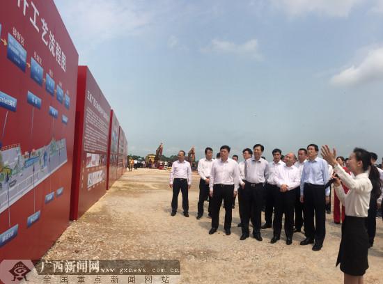 投資150億 正威廣西玉林新材料產業城項目開工