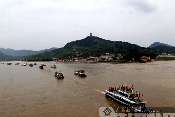 五一假期 广西桂林平乐第二届妈祖文化旅游节开幕