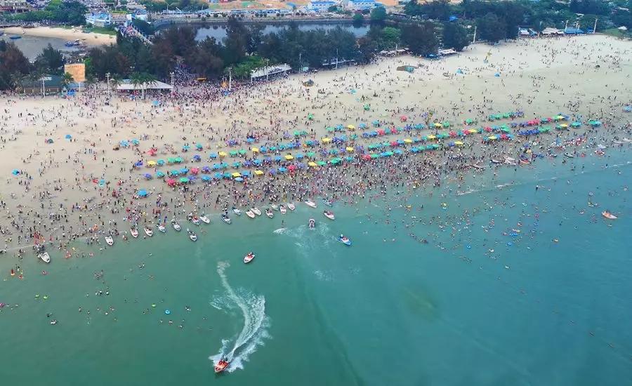 北海上榜全国海滨热点旅游城市 共接待游客68.8万人次