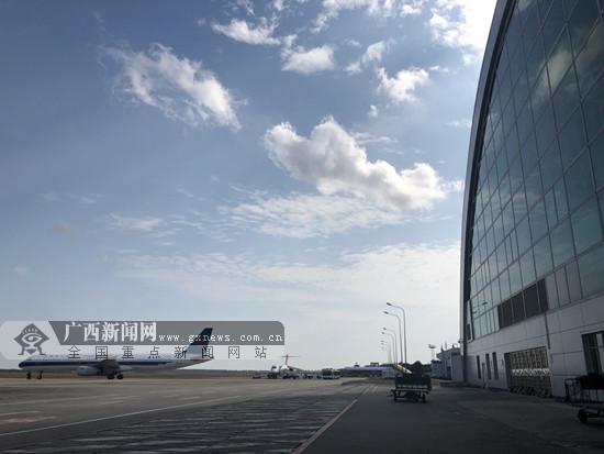 北海机场较去年提前一个月完成客流量100万人次