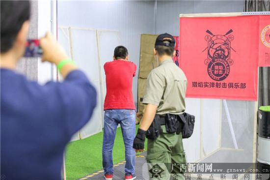 广西大众射击有新风向 专业场馆面向公众开放