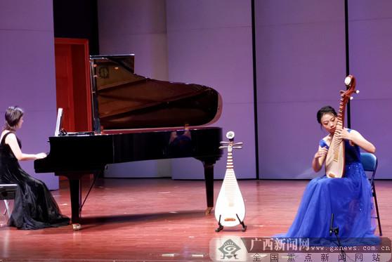 广西民大学子献礼青春 举办琵琶毕业音乐会
