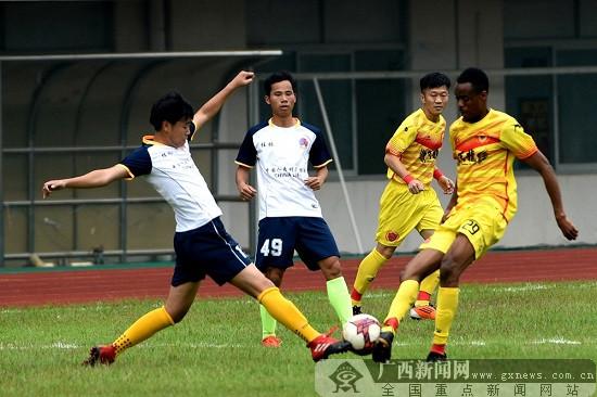 桂林市第八届城市足球联赛已近尾声、天龙提前夺冠