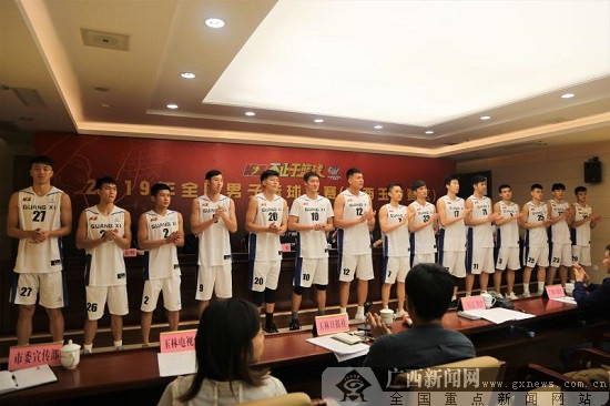 2019年全国男子篮球联赛开赛在即 广西力争冠军