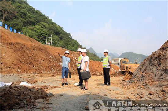 重大项目建设专责组现场督察乐业两大在建项目