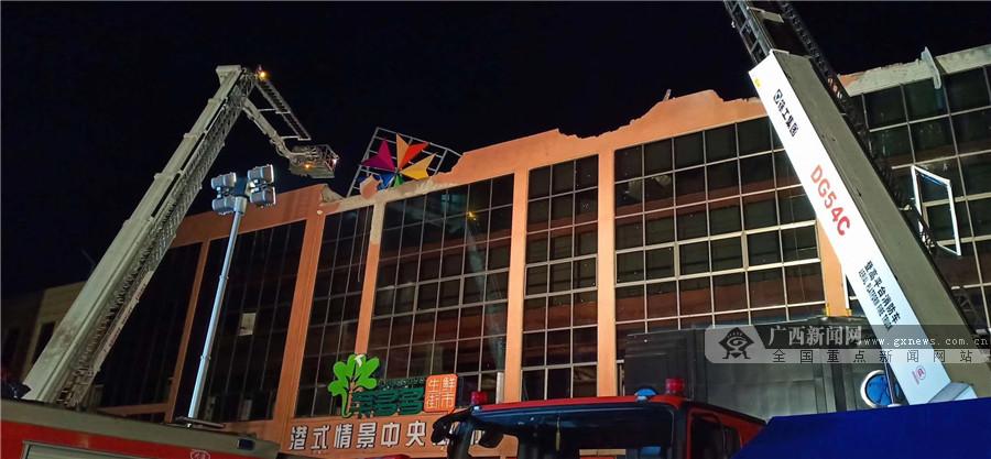 百色一酒吧发生坍塌事故 已致6人死亡87人伤(图)