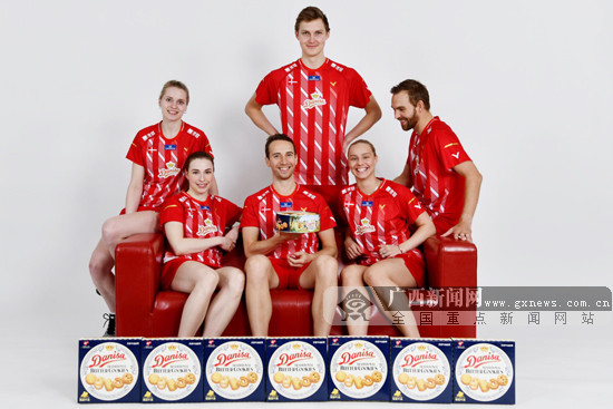 丹麦羽毛球队联袂皇冠丹麦曲奇征战2019苏迪曼杯