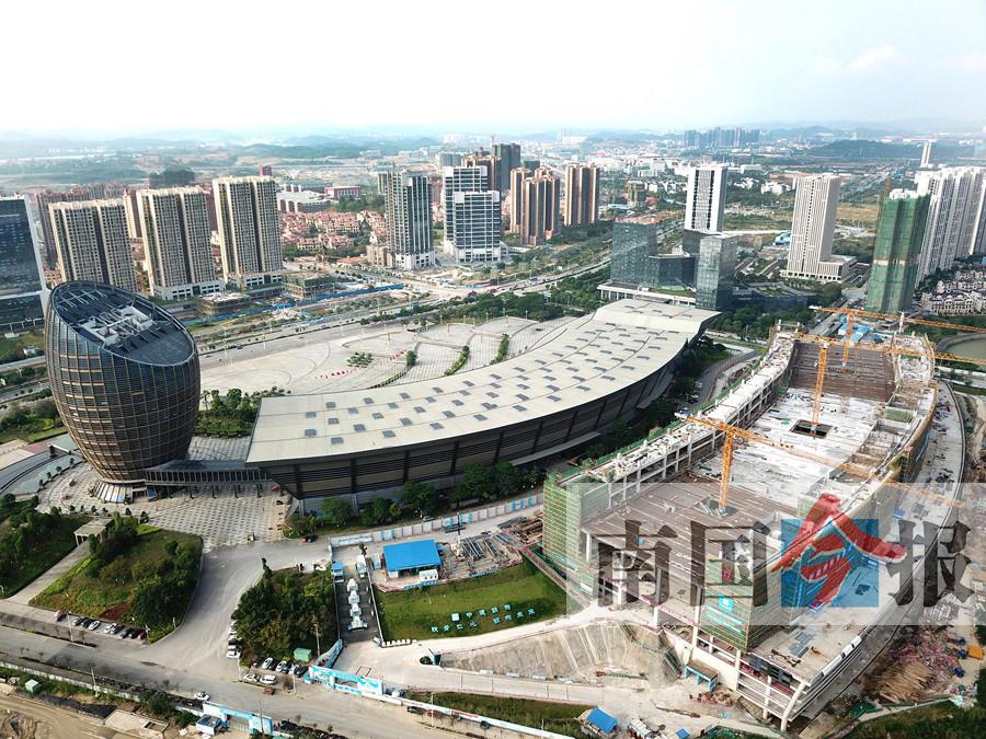 柳州国际会展中心再添两栋会展大楼 总面积扩两倍