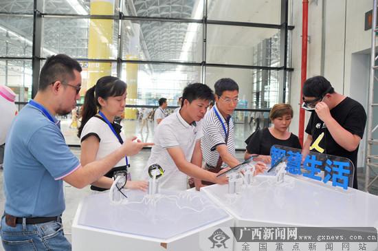 广西联通:5G技术亮相2019中国糖业博览会