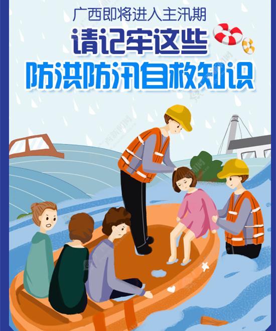 广西即将进入主汛期 请记牢这些防洪防汛自救知识