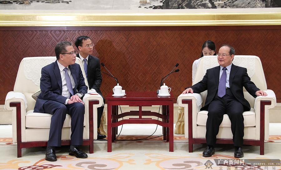 鹿心社会见越南驻华大使邓明魁