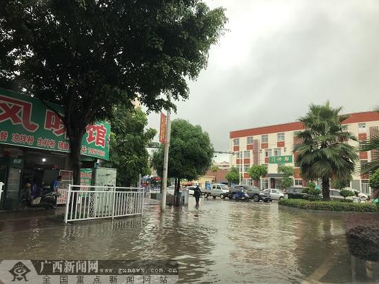 玉林强降雨天气频发 部分地区有暴雨