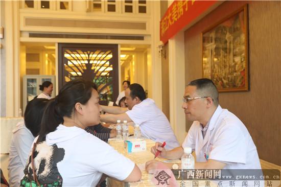漓江大美物业携手南溪山医院服务社区群众