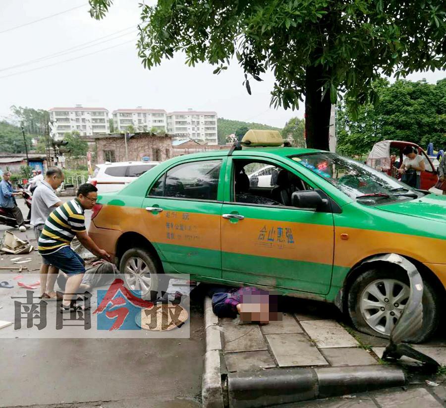 悲剧!出租车撞死两人 肇事司机事后突发疾病身亡