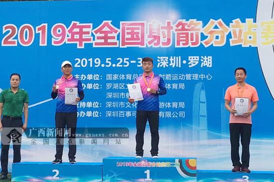2019年全国射箭分站赛第二站:广西队收获1银1铜