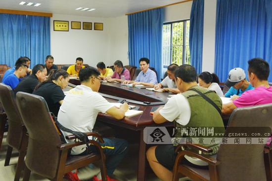 广西射击射箭运动中心强化端午节安全生产工作