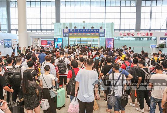 端午小长假 南宁铁路车站预计发送旅客48万人次