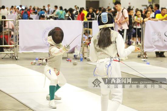 全国性击剑赛事首登广西:在南宁国际会展中心举行