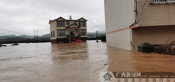 全州暴雨致全县大面积停电通讯不畅 1人死亡1人失联