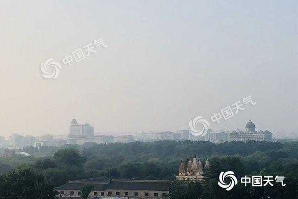 北京最高温32℃出门需防晒 后两日大部将现雷雨天