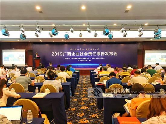 广西66家企业公开发布2018年度社会责任报告