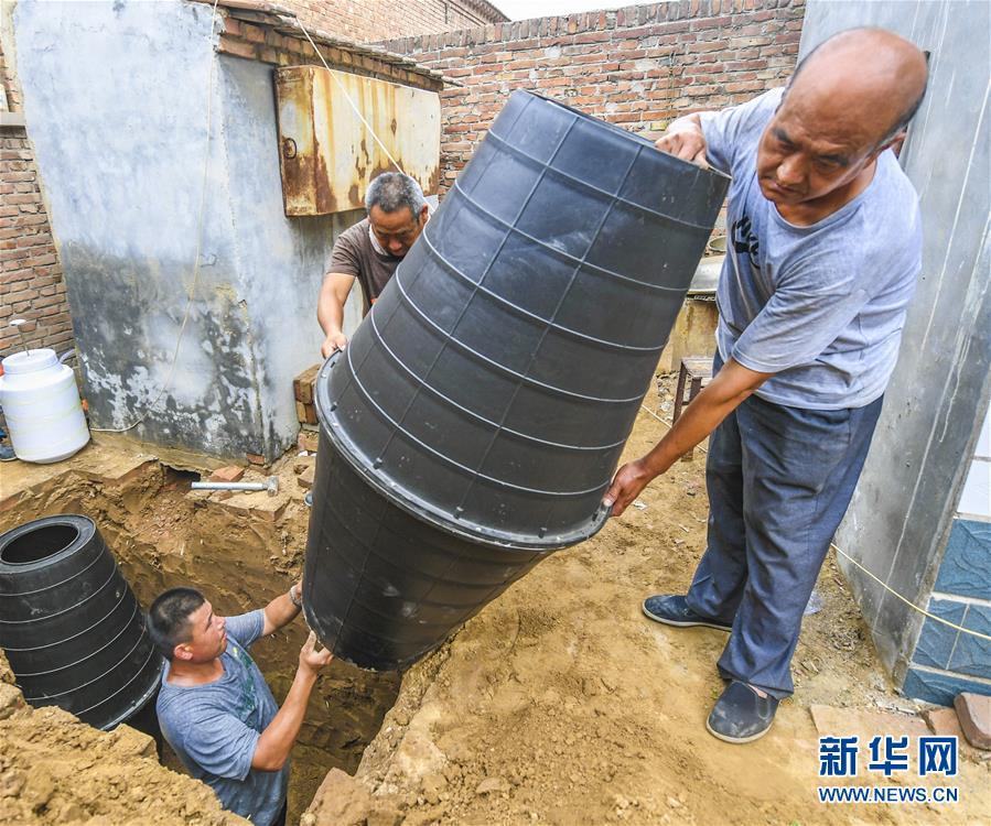 """河北故城:""""厕所革命""""提升农民生活质量"""