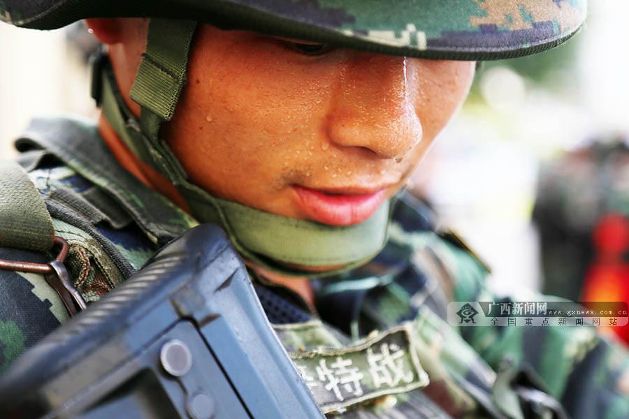 """武警广西总队""""魔鬼周""""启幕 听听官兵的参训目标"""