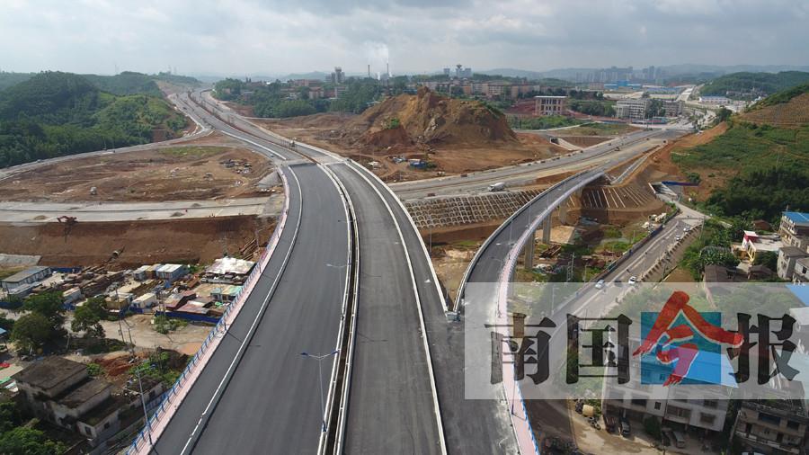 柳州东外环7月全线通车 从柳北直通柳东后上高速