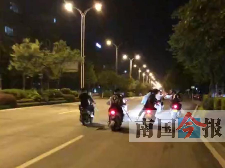 柳州南环路发生群体打斗事件 4名涉案人员落网