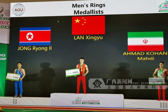 广西3将建功!2019年体操亚锦赛为国争得4金2银