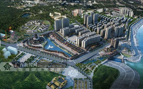 大化达吽小镇7月1日将开街(图)