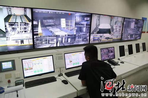 停取车不超3分钟 北京城市副中心打造智能立体车库