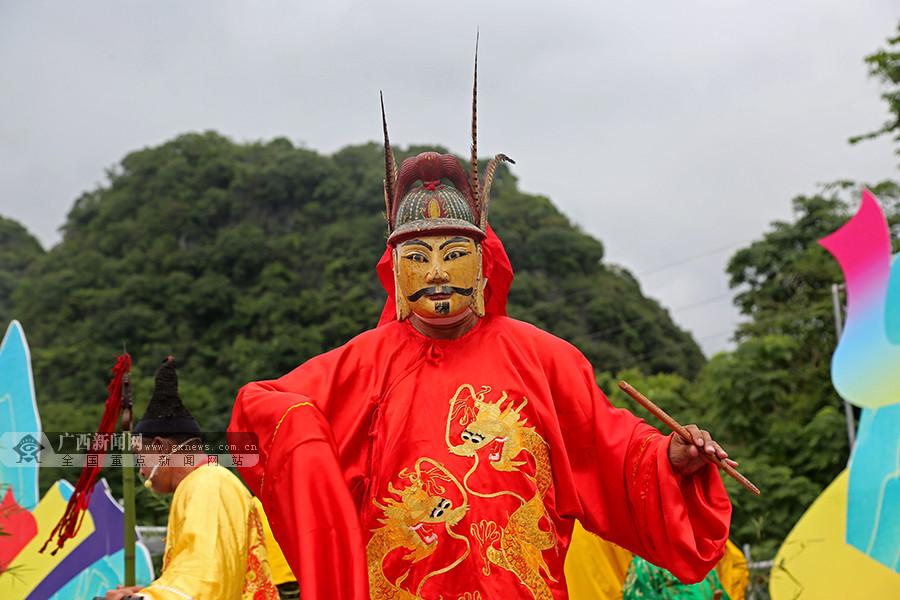 环江下南乡举办活动 共同庆祝毛南族分龙节(图)