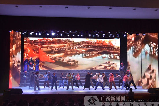 上林县举办¡°6¡¤26¡±国际禁毒日专场文艺晚会