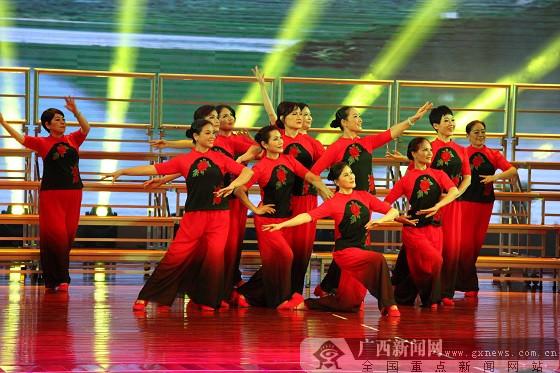 广西老年大学2017舞蹈基础班学员毕业