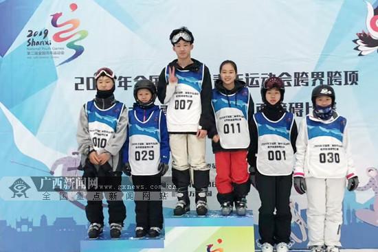 马于森全国赛获奖牌 广西运动员冬季项目再有突破