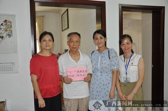 威尼斯人网站市红十字会医院党委开展慰问困难党员活动
