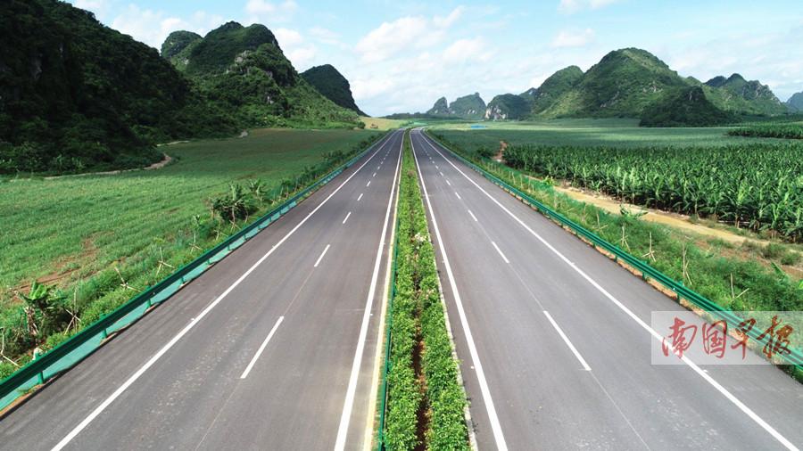 贵港至隆安高速公路正式开通 有望缓解六景段拥堵