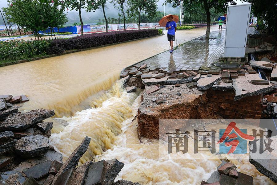 柳州启动防洪四级应急响应 多条河流水位超警(图)