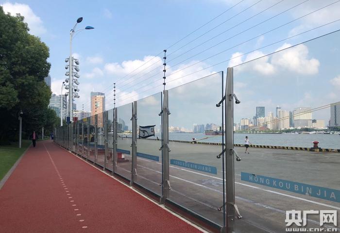 """【看长江之变】北外滩滨江:从客运码头到""""城市森林"""" 31万平方"""