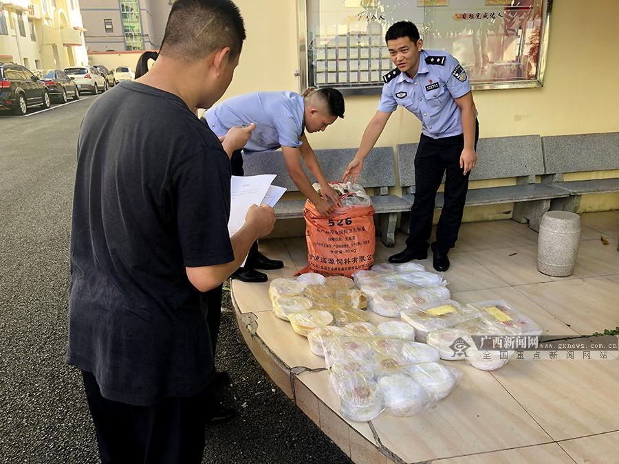 男子携带价值25万元高级燕窝入境 被东兴边防查获