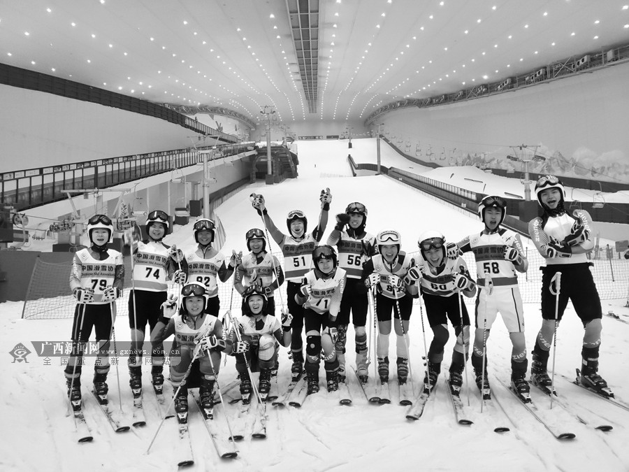全国第二届青年运动会传捷报 广西冬季项目获突破