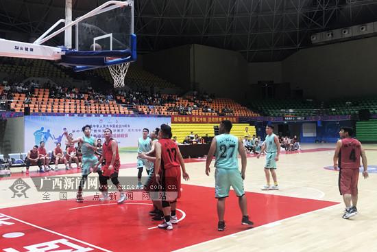 靖西第二届篮球联赛拉开帷幕 1600余人参赛创新高